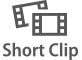 Record short clips with playback effects