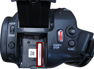 Where to find your serial number - Canon Middle East